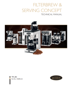 teknisk manual Coffee Queen Original | kaffe-rep