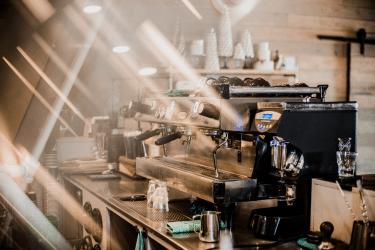 Esprossomaskin i motljus|kaffe-rep.se