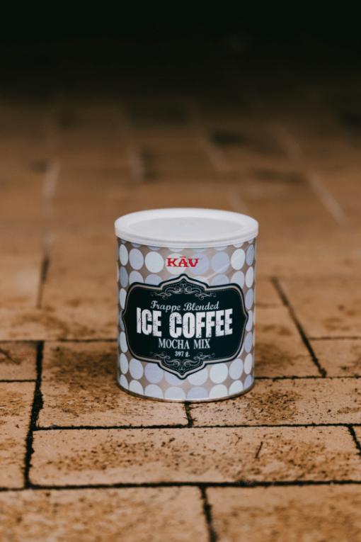 Iskaffepulver KAV mocca 397g|kaffe-rep.se